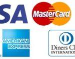 スタディサプリ支払いに使えるクレジットカードブランド/JCB、マスターカード、ビザ、ダイナーズクラブ、アメリカンエクスプレス